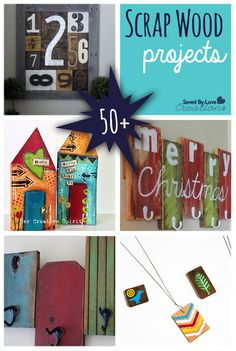 Over 50 creative uses for your scrap wood #diy #woodworking @savedbyloves