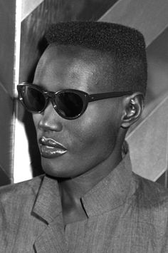Grace Jones's strong, dynamic bone structure helped to define an ever-expanding genre of androgyny.