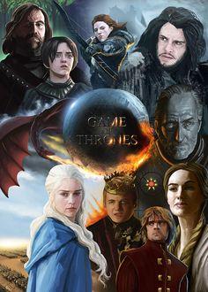 Game of Thrones by barelt1.deviantart.com on @deviantART