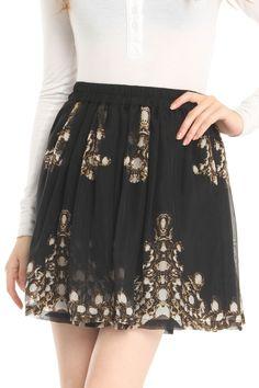 Meghan Laelyn Skirt In Heaven Sent  Lovely skirt!