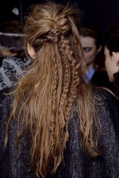 Fishtail Braids / Wedding Style Inspiration / LANE