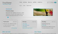 30 Fresh Web Layout Design Photoshop Tutorials