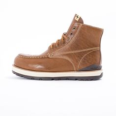 Visvim 7 Hole Moc Toe Boot - New beautifully crafted 7 Hole Moc Toe Boot from Visvim. A lovely reworking of the classic work boot, it features a premium cowhide leather upper, leather lining and laces, unqiue side zip over easy in and out, TPU heel stabilizer, hand stitch detailing at the Moc toe, please custom rugged Vibram sole. Gorgeous.