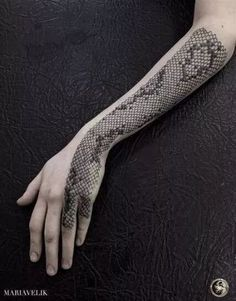 snake tattoo back Galleries is part of Top Best Snake Tattoos Designs And Ideas - snake skin, scale, arm tattoo, tattoo for women Hand Tattoos, Forearm Tattoos, New Tattoos, Body Art Tattoos, Sleeve Tattoos, Tattoos For Guys, Tattoos For Women, Tattoo Arm, Cobra Tattoo