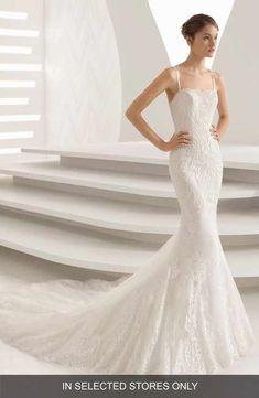 4114a77ec2a Rosa Clara Abadia Lace Mermaid Gown Berenice