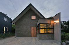 Nobuyoshi Hayashi の モダンな 家 守山の家