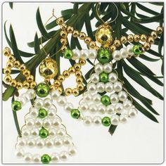 6 Perlenengel im Set - Zauberhafter Perlen-Weihnachtsschmuck « Basteln & Malen « Weihnachtsmarkt 2013 im Junghans-Wolle Creativ-Shop kaufen