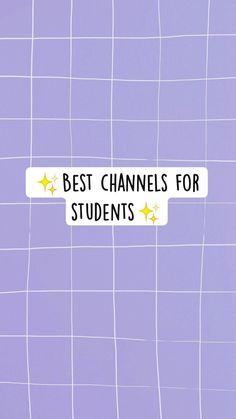 Study Hacks, Study Tips, School Tips, School Hacks, Channel, Student, School Organization Notes, Casual School Outfits, School Motivation