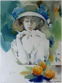 Aquarelle Reims Evenement | Galeries des artistes - Slawa Prishedko