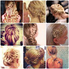 Gorgeous hair-do's <3