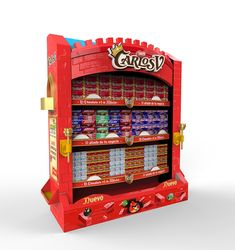 Carlos V Chocolate Nestle - Búsqueda de Google Displays, Pop Display, Booth Design, Retail Design, Arcade Games, Jukebox, Chocolate Nestle, Chocolate Recipes, Architecture