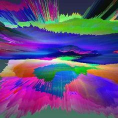 "Saatchi Online Artist Tina Vaughn; New Media Art, ""Sunrise Sunset"" #art"
