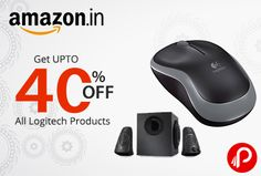 Amazon Deal of the Day offers UPTO 40% off all Logitech Keyboard, Mouse, Speaker Products.  http://www.paisebachaoindia.com/get-upto-40-off-all-logitech-products-deal-of-the-day-amazon/