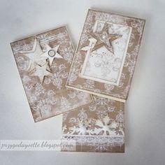 Przygoda Yvette: Skromne i eleganckie kartki świąteczne