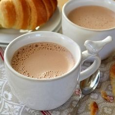 French Press Breakfast Chocolate---an easy method for making thick, rich European style hot chocolate
