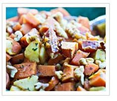 Sweet Potato Hash Recipe (half the calories of a traditional hash recipe) #copemanhealthcare
