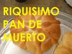 RECETA FACIL DE PAN DE MUERTO