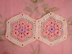 African Flower Hexagon Tutorial | AllFreeCrochetAfghanPatterns.com