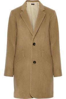 A.P.C. Atelier de Production et de Création Manteau Chesterfield wool-blend coat | NET-A-PORTER