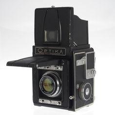 Musashino Ritterick Optika IIA SLR 120 Film Camera Roll Film Back AS-IS