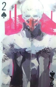 Tatara ~ 2 of Spades ~ Tokyo Ghoul trump cards