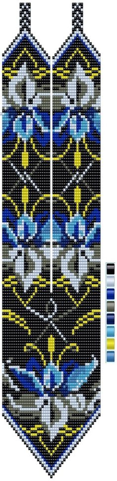 Бисерное творчество Bead Loom Patterns, Beading Patterns, Stitch Patterns, Beaded Necklace Patterns, Beaded Jewelry, Beaded Earrings, Nativity Crafts, Loom Beading, Silk Ribbon