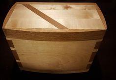Coffee Box. Everything you need for your daily hot beverage in one place - kahvirasia, kaikki tarvittava säilyy kätevästi samassa paikassa. #coffeetime #coffeebox #coffee #woodenbox #wood #wooden #wooddecor #woodporn #wooddesign #artisan #handmade #birchbox #birch #woodworking #finland #kahvi #kahvia #puu #puurasia #käsityö #koivu #design #artesaani #puuartesaani #suomi #suomifinland #oulu