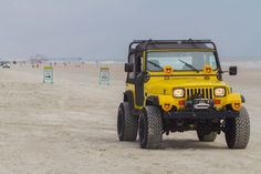 "My '89 YJ on the ""World's Most Famous Beach"", Daytona During Jeep Beach Week 2015! (2048×1366)"