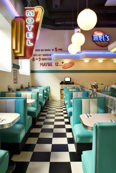 Maggie's Diner. Tommy Mel's, american diner-inspired place in Barcelona.