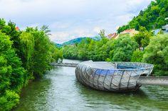 As pontes urbanas mais incríveis do mundo - Aiola Island Bridge (Graz, Áustria)