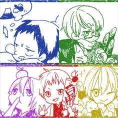 KnB Kiseki No Sedai, Generation Of Miracles, Kuroko's Basketball, Kuroko No Basket, All Anime, Random, Fictional Characters, Fantasy Characters