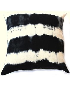 Rope Dye Pillow $50