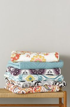 Love these pretty quilts