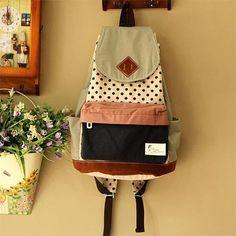 New Dot Stitching Backpack