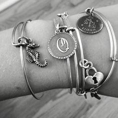 My alex and ani bracelets #alexandani