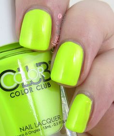 Color Club - Not So Mellow Yellow