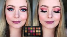 Hi lovelies :) For this rose gold makeup look, I used the beautiful Huda Beauty Rose Gold palette. I hope you like the look! :D Tutorial: Products used: MAC – Prep & Prime 24 hours extended ey… Huda Rose Gold, Huda Beauty Rose Gold Palette, Huda Beauty Eyeshadow, Rose Gold Eyeshadow, Rose Gold Makeup, Purple Makeup, Eyeshadow Palette, Halo Eye Makeup, Gold Smokey Eye