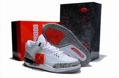 Retro Mens Shoe White Black Grey Nike Air Jordan Free Shipping  http://www.czjordanshoes.com/cz2504.html