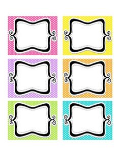 Here+is+a+freebie+for+you+to+create+your+own+classroom+job+cards.++These+coordinate+with+my+Classroom+Job+Cards+in+Bright+Polka+Dot!NAME TAGS FOR CUBBIES Classroom Job Chart, Classroom Labels, Classroom Organisation, Classroom Rules, Classroom Setup, Classroom Displays, Preschool Classroom, School Organization, Future Classroom
