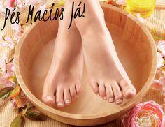 pés macios