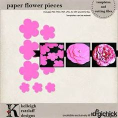 Free Paper Flower Templates - - Yahoo Image Search Results