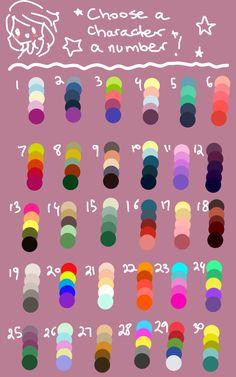 pick a colour palette and a subject and draw! Color Combinations For Clothes, Color Combos, Color Schemes, Color Palette Challenge, Braces Colors, Palette Art, Colour Pallete, Colour Board, Yarn Colors