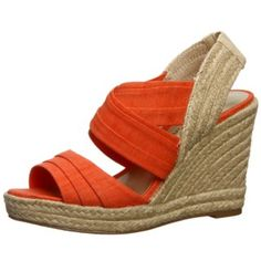 @Overstock - A brilliant coral color highlights these stylish criss-cross strapped wedges from Ann Marino. A wide back strap and open-toe design combines with a 4-inch wedge heel to complete these stunning shoes.http://www.overstock.com/Clothing-Shoes/Ann-Marino-Womens-Jillian-Coral-Criss-cross-Wedges/6448584/product.html?CID=214117 $35.09