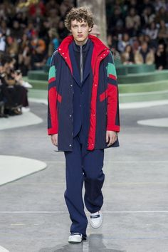 Lacoste FW18.One of many inspirations for us. See more here: http://www.ambitious-shoes.com/ #fashion #clothes #shoes #style #menswear #outfit #streetfashion #mensfashion #streetstyle #Footwear #ambitious #design #leathershoes #ambitiousmood #ambitions #ambitiousshoes #colourfullshoes