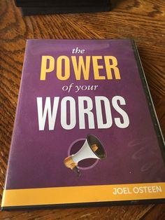 The Power Of Your Words Cd/dvd Set Joel Osteen