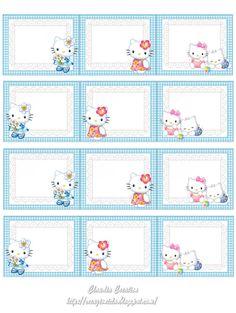 il mio angolo creativo: Etichette Hello Kitty stampabili