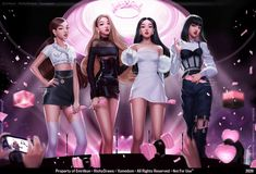 Black Pink Songs, Black Pink Kpop, Blackpink Fashion, Fashion Outfits, Fashion Design, Beauté Blonde, Blackpink Poster, Black Pink Dance Practice, Mode Kpop