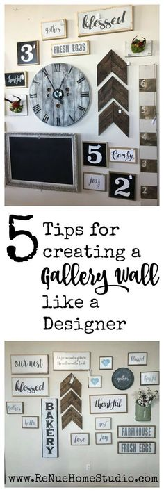 Splendid Are you struggling to make that Gallery Wall for your home or nursery that you've always dreamed of having? We have 5 easy Tips for Creating a Gallery Wall like a Designer. Easy Home Decor, Handmade Home Decor, Handmade Signs, Handmade Ideas, Inspiration Wand, Design Inspiration, Growth Ruler, Design Apartment, Apartment Wall Decorating