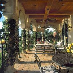 Tuscan Style Patio Ideas