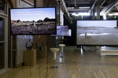 Moving Image announces Istanbul edition http://artradarjournal.com/2014/05/30/video-art-on-the-rise-moving-image-announces-istanbul-edition/ | View of Moving Image New York 2014. Image Courtesy Etienne Frossard.